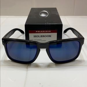Oakley Holbrook Matte Black Ice Iridium(POLARIZED)